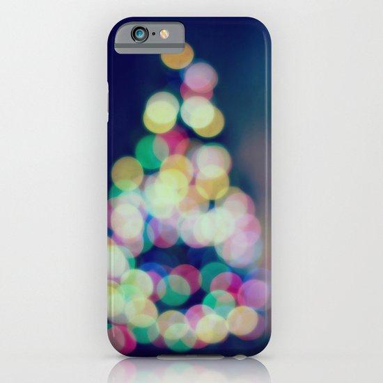 Blue Christmas iPhone & iPod Case
