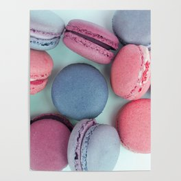Berry Macarons Photograph Poster