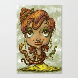 """Her Boa Boa"" Canvas Print"