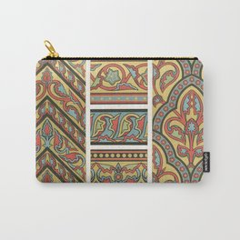 vintage artistic pattern Carry-All Pouch
