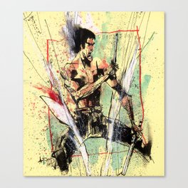 THE DRAGON Canvas Print