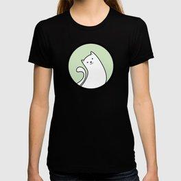 Little White Derpy Kitty T-shirt