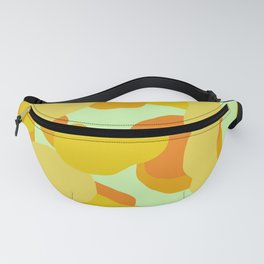 Warm and Cool Tone Terrazzo Fanny Pack