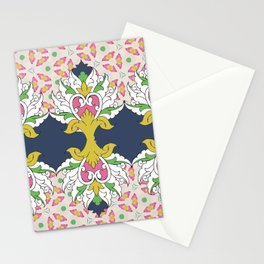 Pink Lotus Stationery Cards