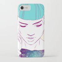 grimes iPhone & iPod Cases featuring GRIMES by Nuk_
