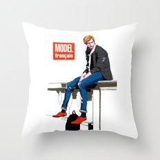 Bastien Bonizec  Throw Pillow