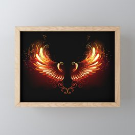 Fire Wings Framed Mini Art Print