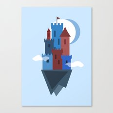 Sky Castle Canvas Print