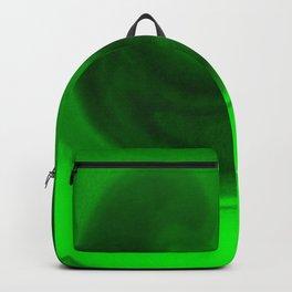 Green tie dye Backpack