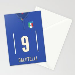 World Cup 2014 - Italy Balotelli Shirt Style Stationery Cards