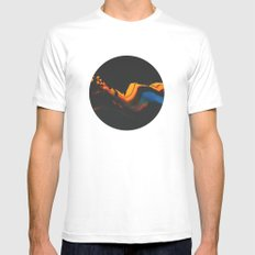 untitled MEDIUM Mens Fitted Tee White