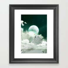 COME TO KISS GOODNIGHT Framed Art Print