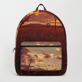 As the Sun Sets in the Heartland Backpack