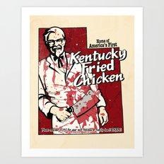 KFC (Utah) Art Print
