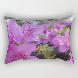 Flower Close Up Rectangular Pillow