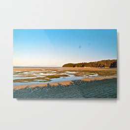 On the Peak of Abel Tasman National Park, Pt 2 Metal Print