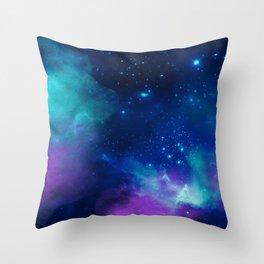 Watercolor Universe 4 Throw Pillow