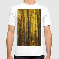 Forest Fuzz Mens Fitted Tee White MEDIUM