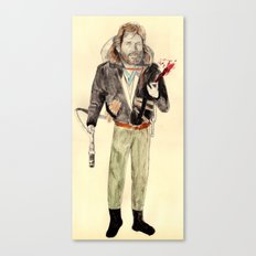 R.J. MacReady | The Thing Canvas Print