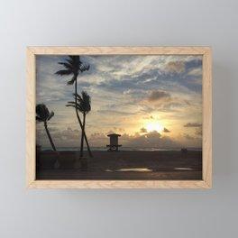 Hollywood beach Florida Framed Mini Art Print