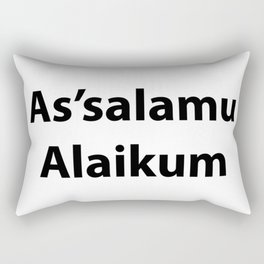 As'salamu Alaikum Rectangular Pillow
