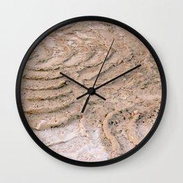 Wheel Loader Skid Marks 3 Wall Clock