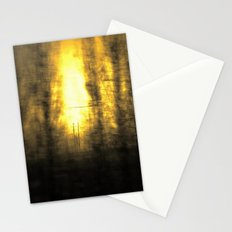 Train View Stationery Cards