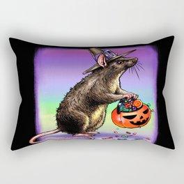 Trick or Treating Mouse Rectangular Pillow