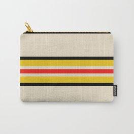 Classic Retro Stripes Amemasu Carry-All Pouch