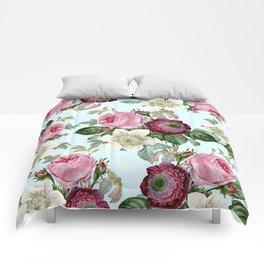 Floral enchant Comforters