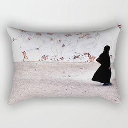 Arabs crossing Rectangular Pillow