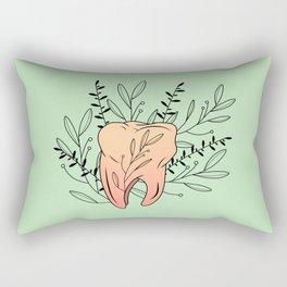 Tooth Rectangular Pillow