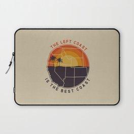 Left Coast is the Best Coast Laptop Sleeve