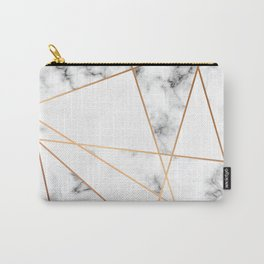 Marble Geometry 054 Carry-All Pouch