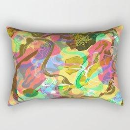 Colour Waves Rectangular Pillow