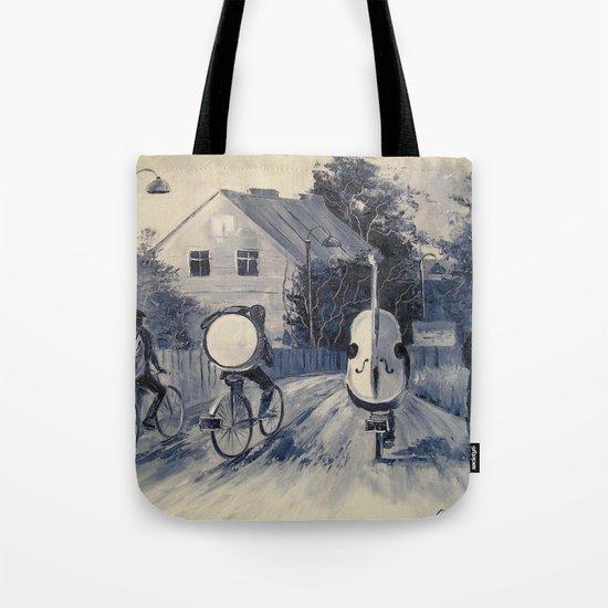 Street musicians Tote Bag