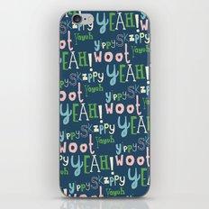 Yahoo Blue iPhone & iPod Skin