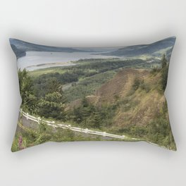 Flowers in the Columbia River Gorge Rectangular Pillow