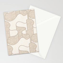 Ribbon in Tan Stationery Cards