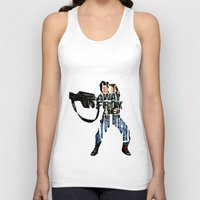 ripley Tank Tops featuring Ellen Ripley from Alien by A Deniz Akerman