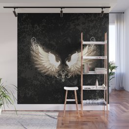 Light wings Wall Mural