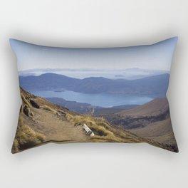 A long walk home - New Zealand Rectangular Pillow
