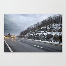 Drive  Canvas Print