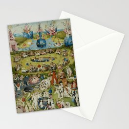 Hieronymus Bosch - The Garden of Earthly Delights - Panel 2 Stationery Cards