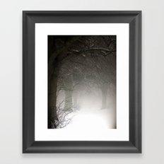 Haunted Memories Framed Art Print