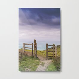 Gateway to the Coast Metal Print