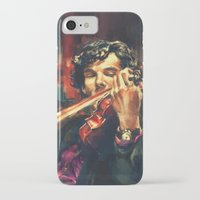 purple iPhone & iPod Cases featuring Virtuoso by Alice X. Zhang