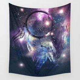 Cosmic Dreamcatcher design Wall Tapestry