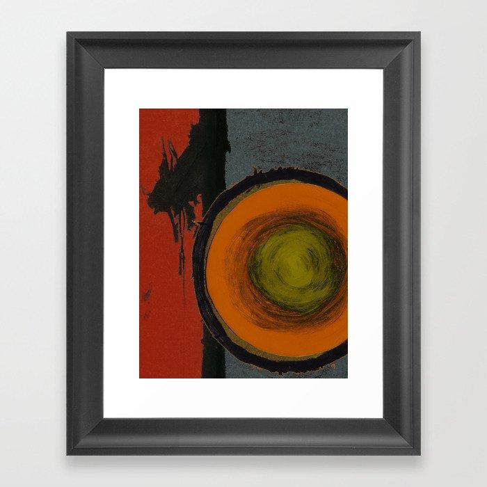 Opal Ten Framed Art Print