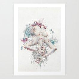 Overdose Art Print